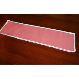 981-10 Napkin Aida 37x21 cm salmon pink
