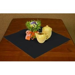 Napkin Aida 45x45 cm (1,5x1,5 ft) black