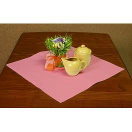 Napkin Aida 45x45 cm (1,5x1,5 ft) salmon pink