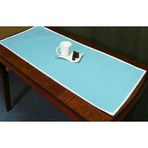 Runner Aida 45x110 cm (1,5x3,6 ft) blue