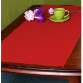 Runner Aida 45x110 cm (1,5x3,6 ft) red
