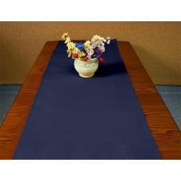 Runner Aida 40x90 cm (1,3x3 ft) navy blue