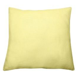 Pillow 40x40 cm, 14 ct yellow