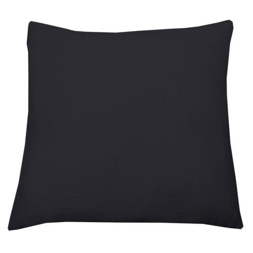Pillow cover 40x40 cm black (46 stitches/10cm)