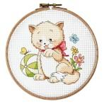 Cross stitch set - Funny afternoon