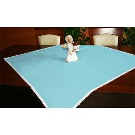 Tablecloth Aida 90x90 cm blue