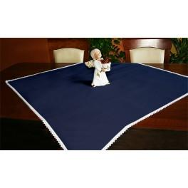 Tablecloth Aida 90x90 cm navy blue