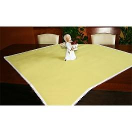 Tablecloth Aida 90x90 cm yellow