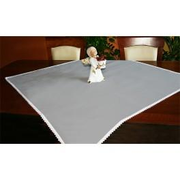 Tablecloth Aida 90x90 cm grey