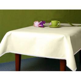 Tablecloth Aida 110x160 cm (1,2x1,7 yd) ecru