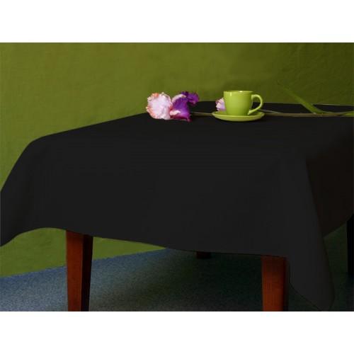 Tablecloth Aida 110x160 cm (1,2x1,7 yd) black