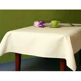 972-03 Tablecloth Aida 110x160 cm (1,2x1,7 yd) ecru