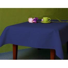 Tablecloth Aida 110x160 cm (1,2x1,7 yd) navy blue
