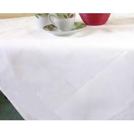 Tablecloth Pola 90x90 cm white