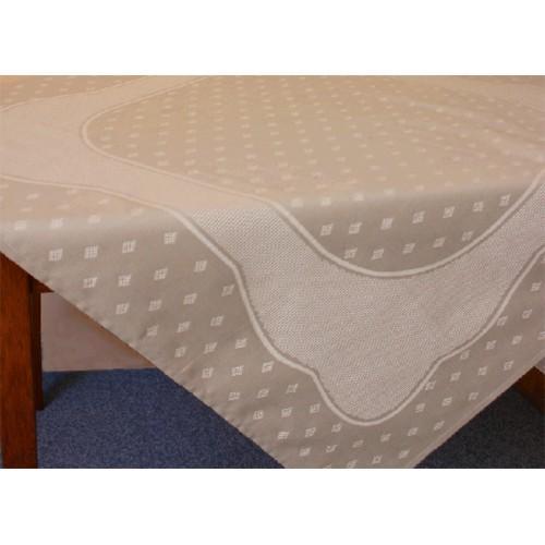 Tablecloth Land 90x90 cm natural