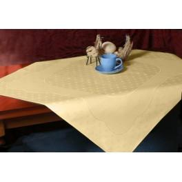 Tablecloth Land 90x90 cm cream