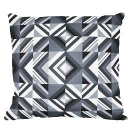 Graphic pattern – Pillow - Gray crumbs