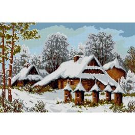 GC 9213 Cross Stitch pattern - Hives in winter