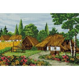 GC 9210 Cross Stitch pattern - In the summertime