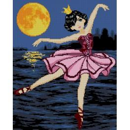 6075 Tapestry canvas - Ballet dancer