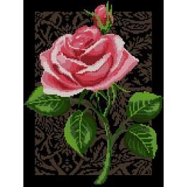 GC 3075 Cross Stitch pattern - The rose