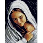 Cross Stitch pattern - Mother with baby