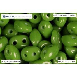 P 53330Twin Preciosa beads Twin (2,5x5mm)