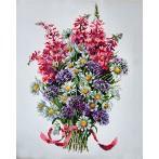 Cross stitch kit - The field bouquet