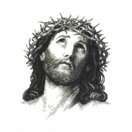 Z 8888 Cross stitch set - Jesus Christ