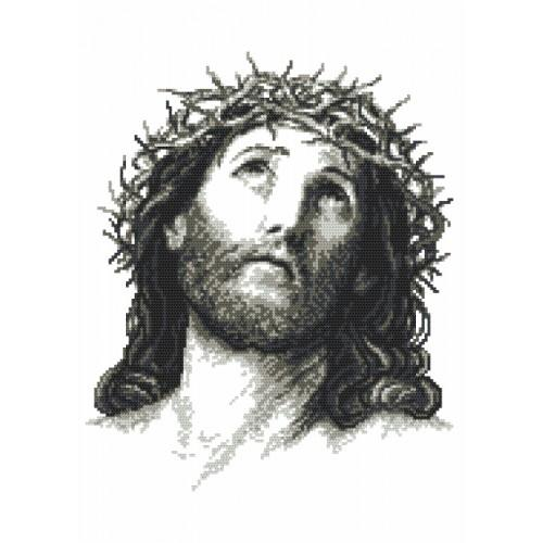 Cross stitch set - Jesus Christ