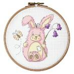 Tapestry canvas - Funny bunny