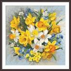 Cross Stitch pattern - Spring flowers II