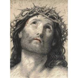 Cross Stitch pattern - Jesus Christ by Guido Reni