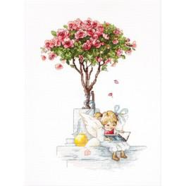 LS B1115 Cross stitch kit - The Roses