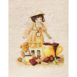LS B1131 Cross stitch kit - Chocolate fairy