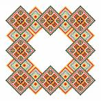 Pattern online - Napkin - Colourful squares