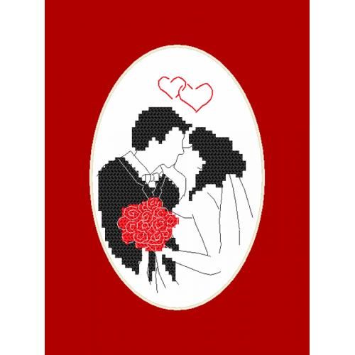 Pattern online - Card - Newlyweds