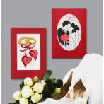 Cross stitch kit - Card - Newlyweds