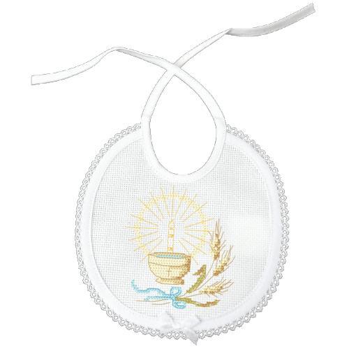 Cross Stitch pattern - Bib - Holy Baptism