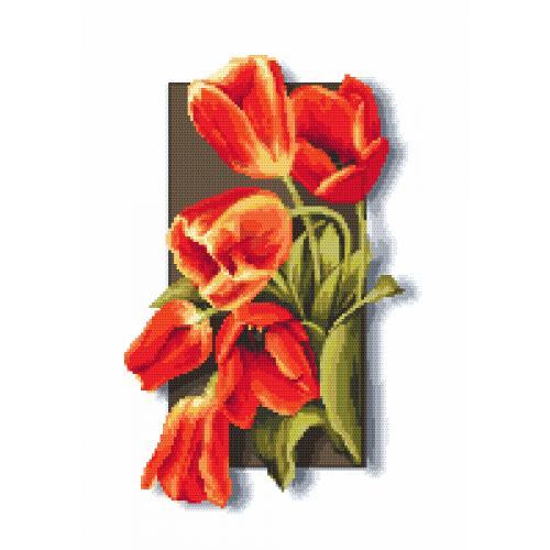 Online pattern - Tulips 3D