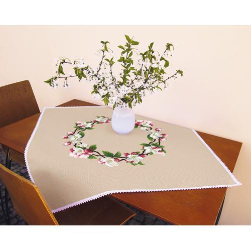 Cross stitch kit - Tablecloth - Around the apple tree