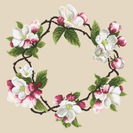 Pattern online - Napkin - Around the apple tree