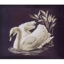Cross stitch kit - Swan