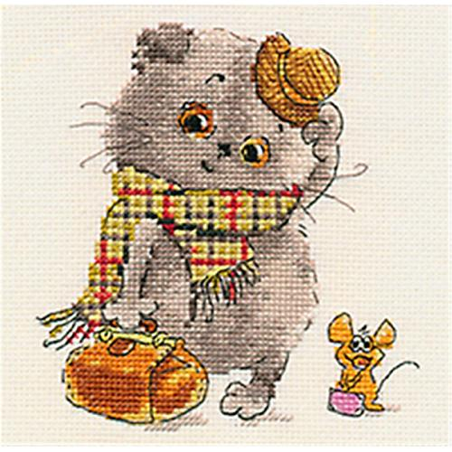 Cross stitch kit - Little guests