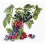 Cross stitch set - Fruits of summer