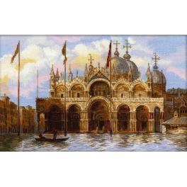Cross stitch kit - Venice. St. Marks Square