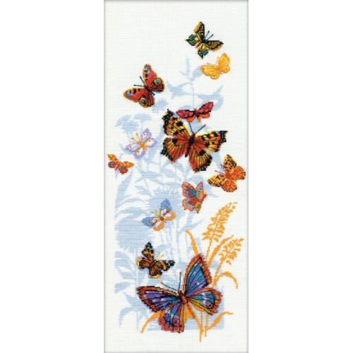 Kit with yarn - Russian Butterflies