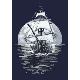 K 10110 Tapestry canvas - On the waves of dreams
