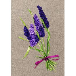 Ribbon set - Smelling lavender