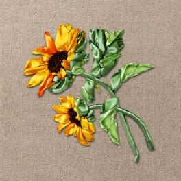 Ribbon set - Sunflowers